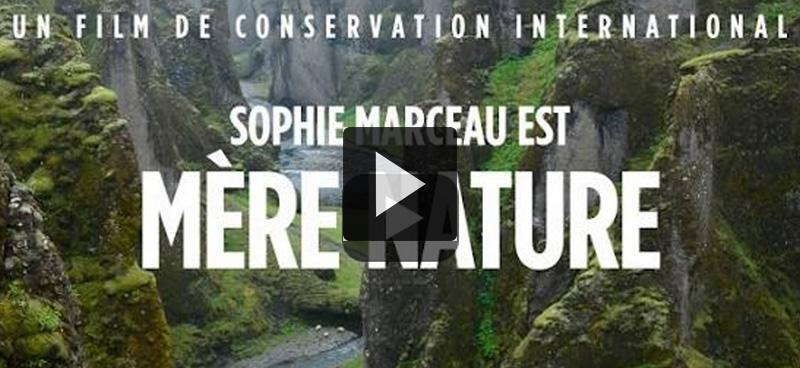 Sophie Marceau, porte-voix de Dame Nature