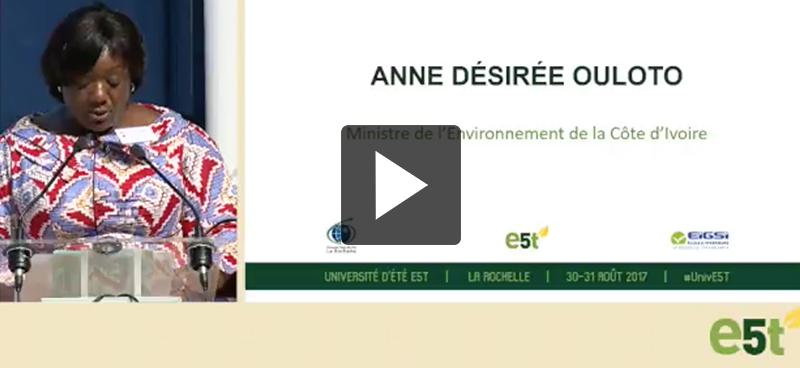 Anne Désirée Ouloto : «les bénéfices tirés de la transition énergétique par les femmes sont multiples»