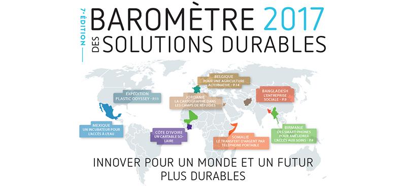 baromètre 2017 solutions durables