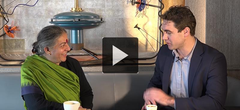 Vandana Shiva: «Les femmes sont le pouvoir»