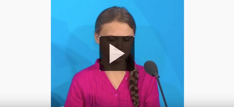 Greta Thunberg: «vous avez volé mes rêves et mon enfance»