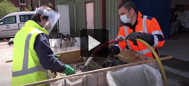 Des filets pour capter les déchets des eaux pluviales